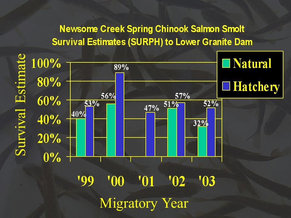 Survival Estimate Migratory Year