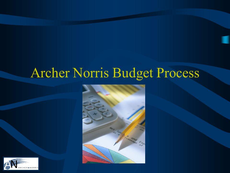 Archer Norris Budget Process