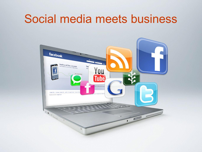 Social media meets business