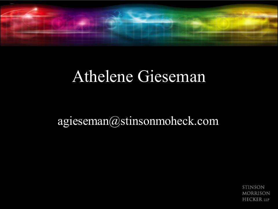 Athelene Gieseman agieseman@stinsonmoheck.com