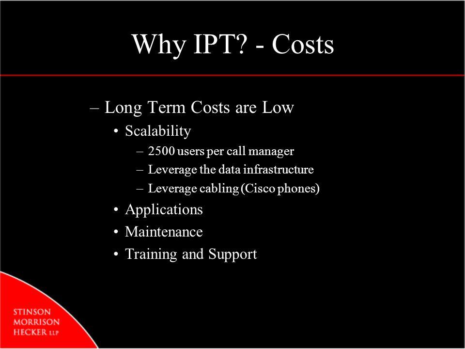 Why IPT.