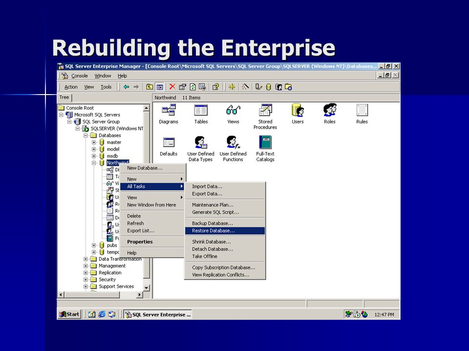 Rebuilding the Enterprise