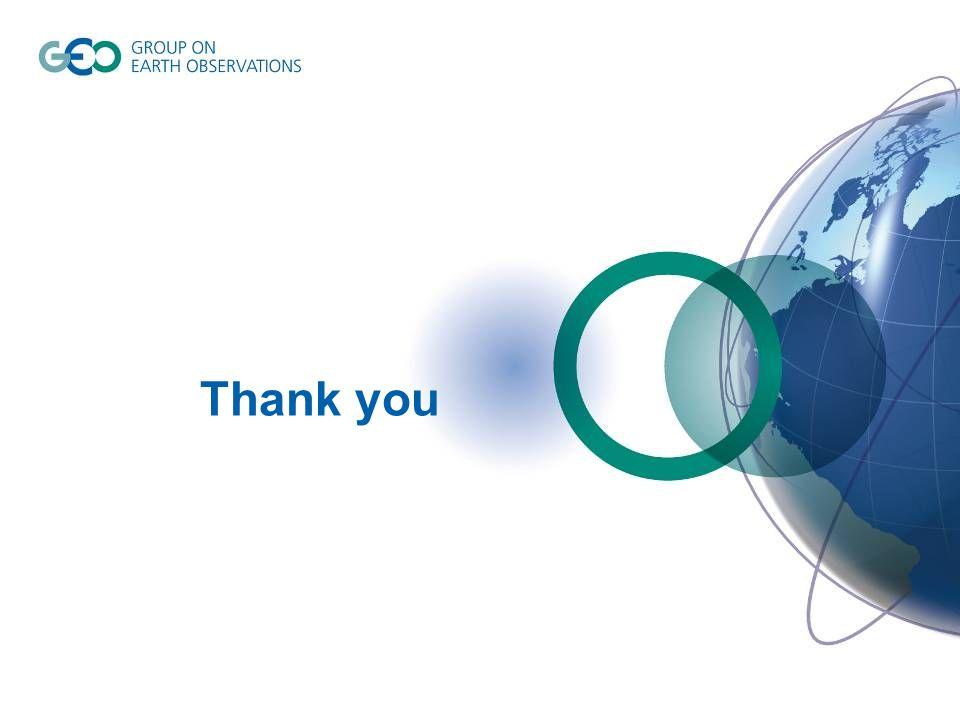 © GEO Secretariat Thank you