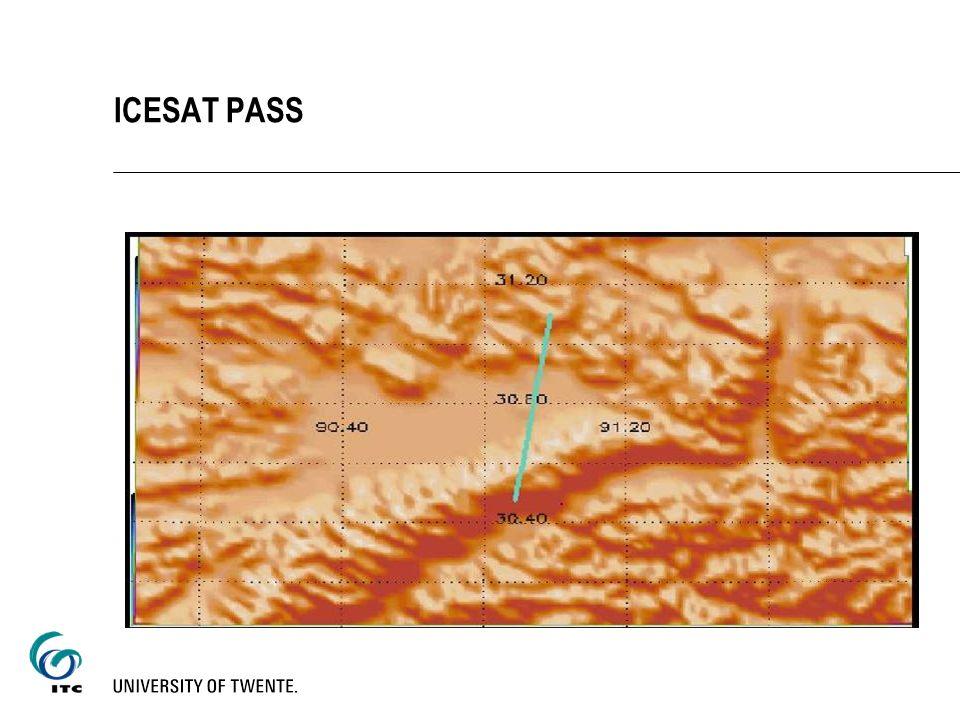ICESAT PASS