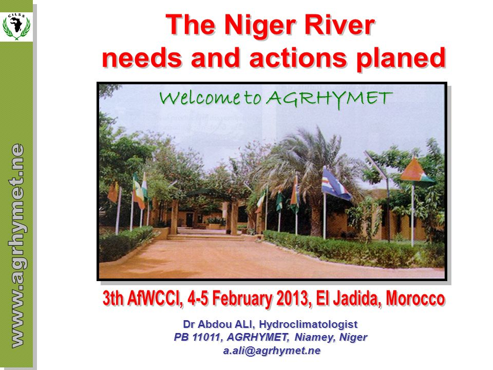 Integrated forecasting system supported by University of Tokyo The Upper Niger which is the most strategic part of the basin is considered for the application of the system Faces to high climate variability Environmental changes and degradation Because of the growing needs of populations, many dams are planned to be built in the Upper-Niger Mine exploitation and source of pollution