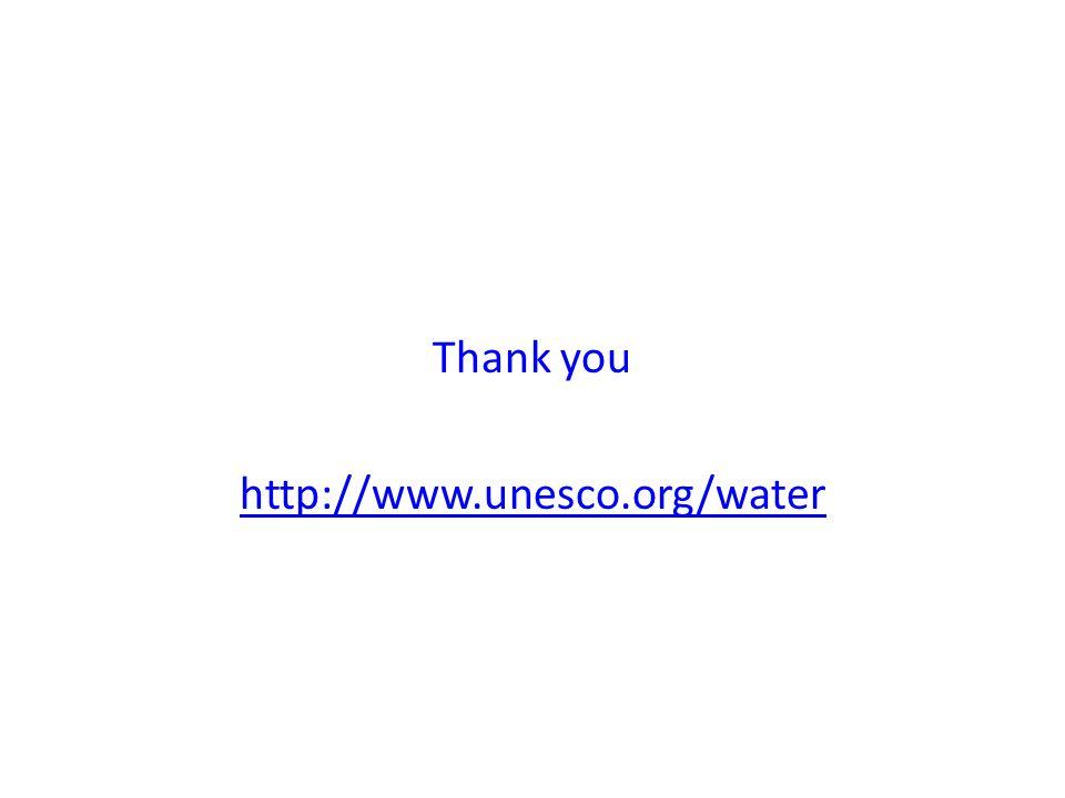 Thank you http://www.unesco.org/water
