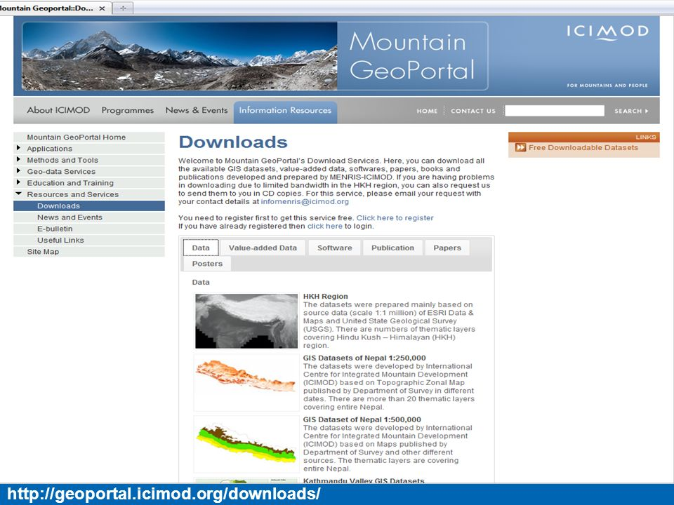 http://geoportal.icimod.org/downloads/