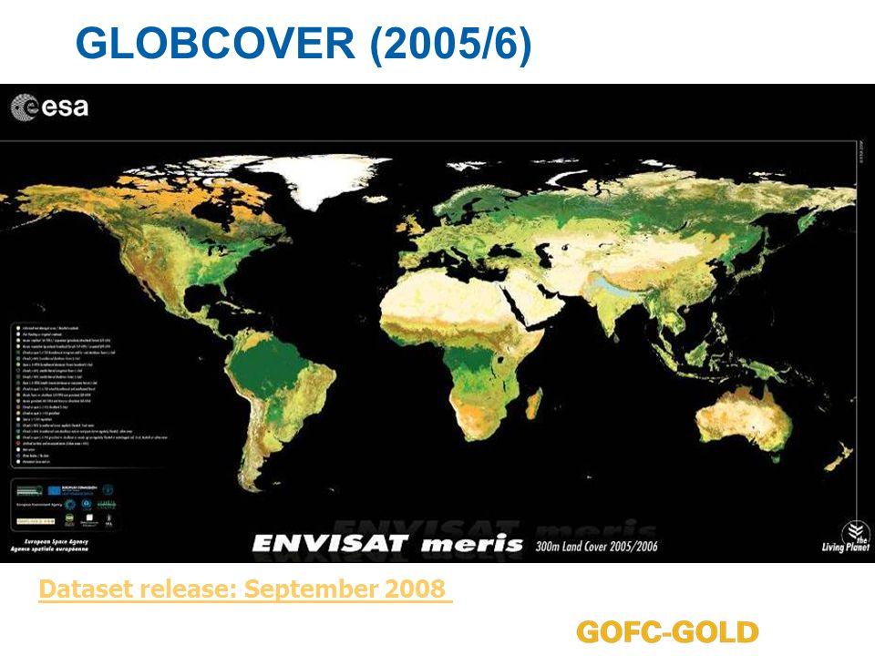 GLOBCOVER (2005/6) Dataset release: September 2008
