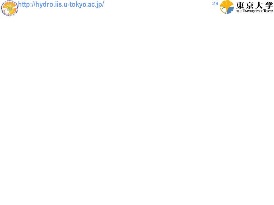 http://hydro.iis.u-tokyo.ac.jp/ 29