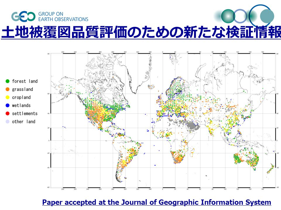 Paper accepted at the Journal of Geographic Information System