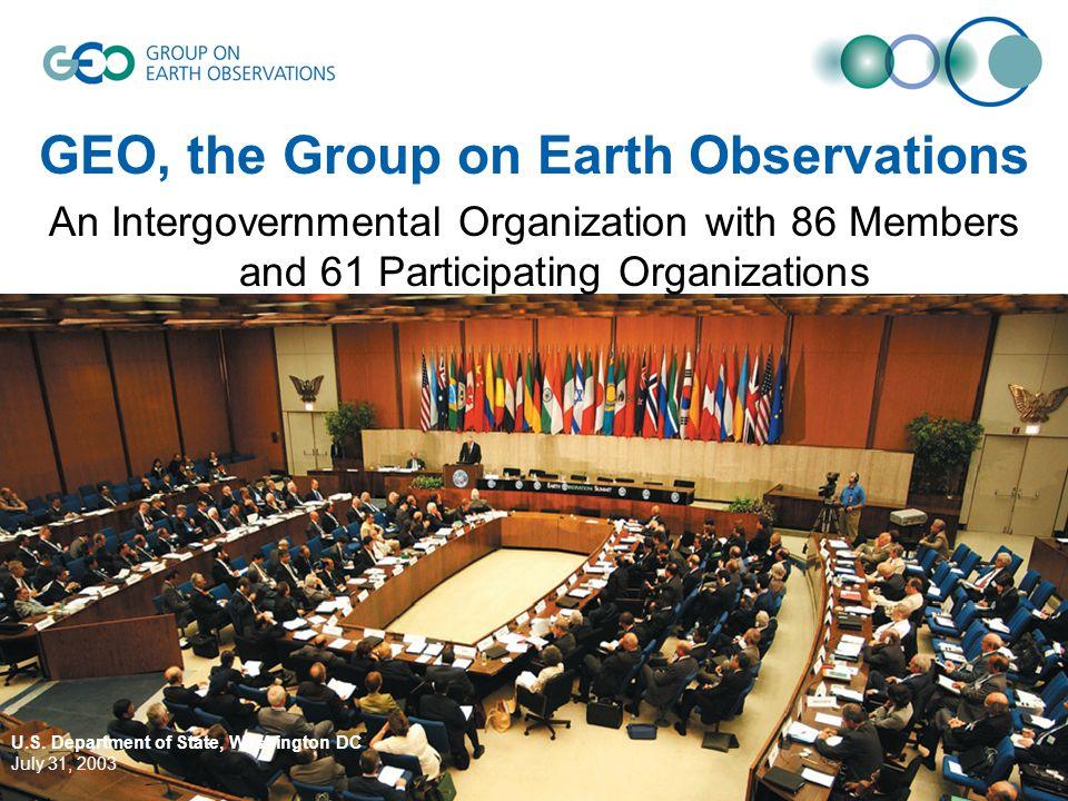 © GEO Secretariat U.S.