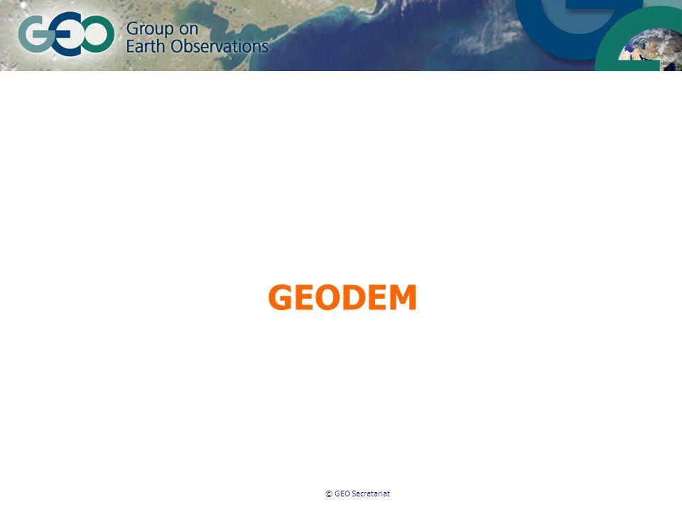 © GEO Secretariat GEODEM