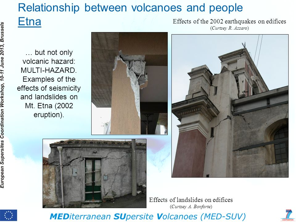 Effects of the 2002 earthquakes on edifices (Curtsey R.