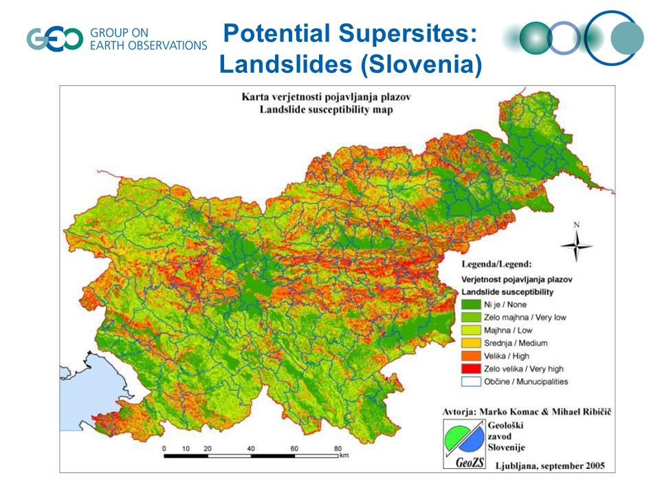Potential Supersites: Subsidence (Europe)