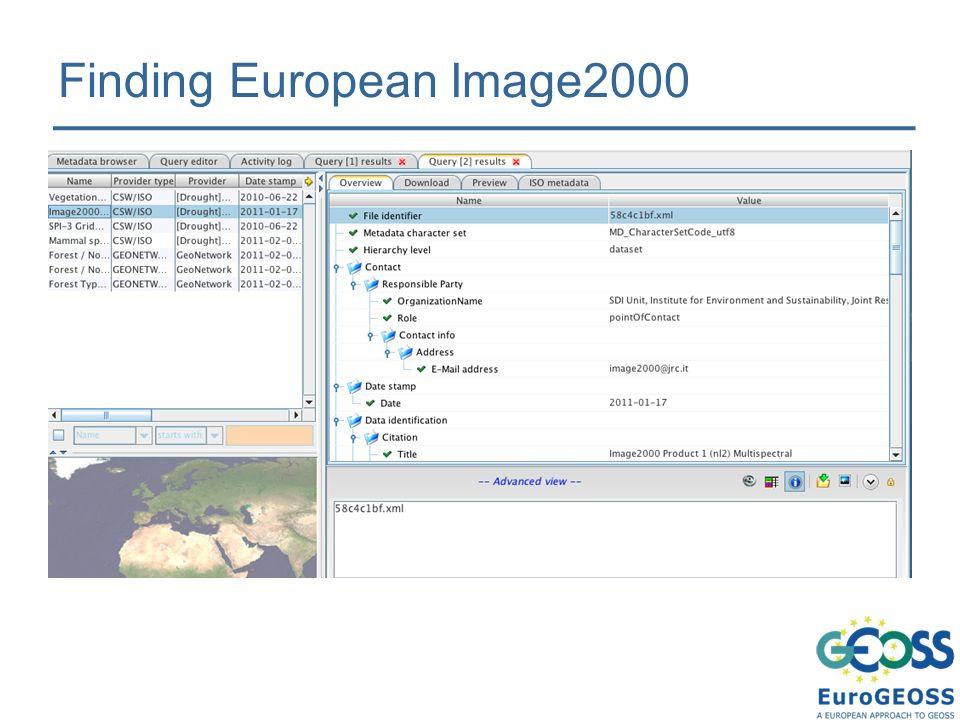 Finding European Image2000