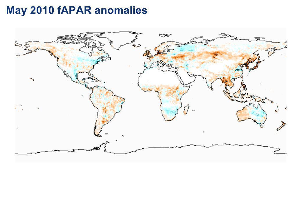 May 2010 fAPAR anomalies