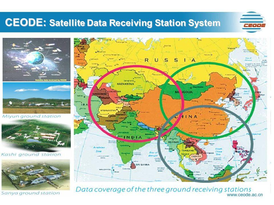 CEODE: Satellite Data Receiving Station System