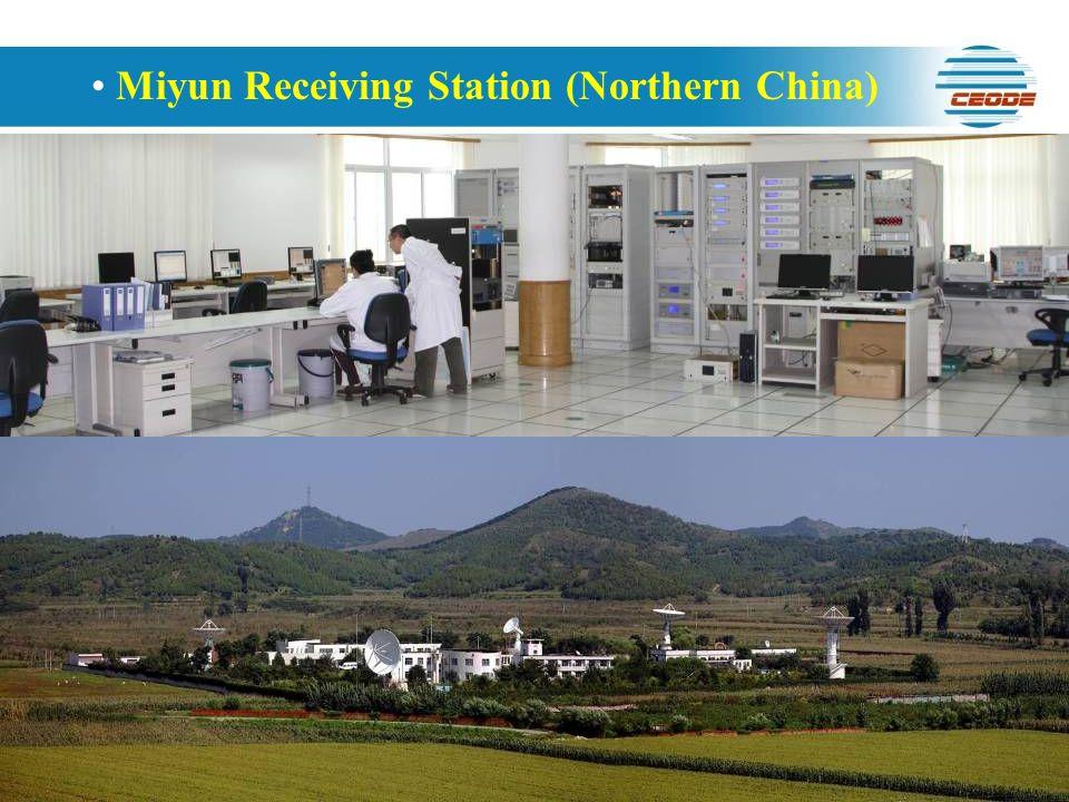 Miyun Receiving Station (Northern China)