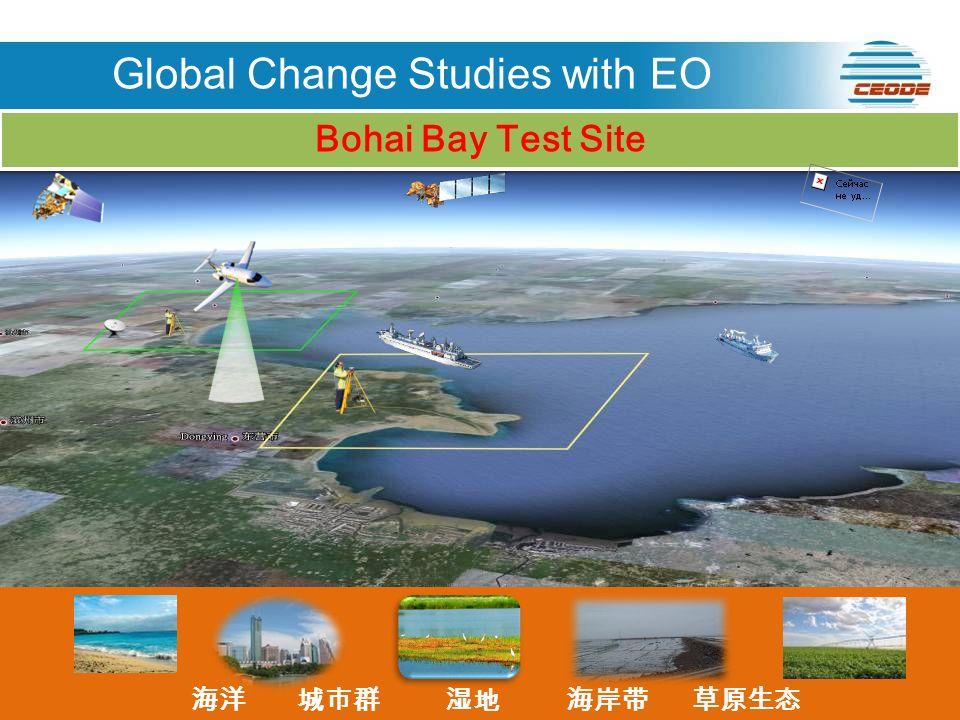 ENVISAT RADARSAT LANDSAT SPOT Bohai Bay Test Site Global Change Studies with EO