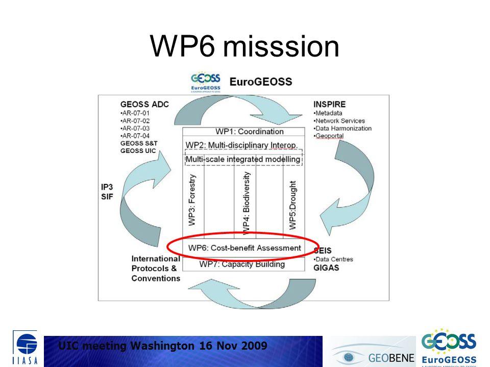 WP6 misssion