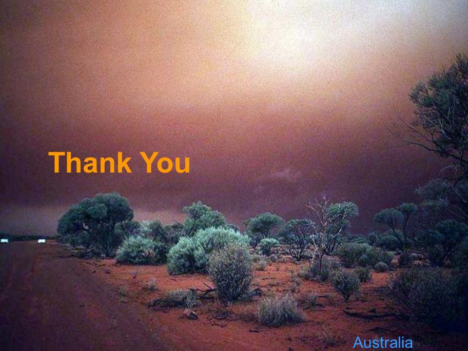 Australia Thank You
