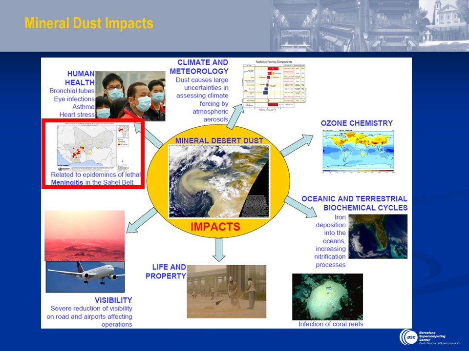 Mineral Dust Impacts