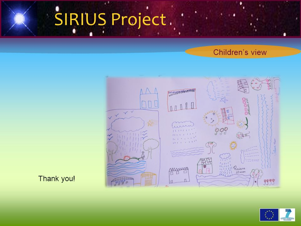 2 6 2 9 0 2 1 Thank you! SIRIUS Project Childrens view