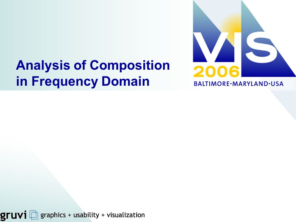Analysis of Composition in Frequency Domain