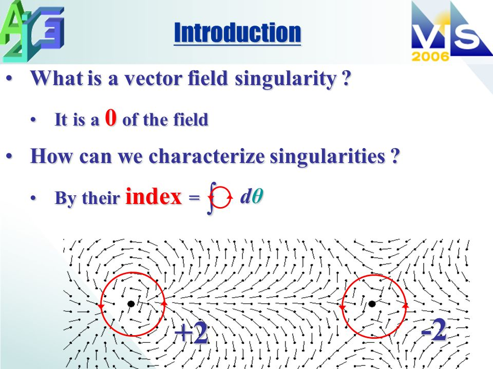 What is a vector field singularity What is a vector field singularity .