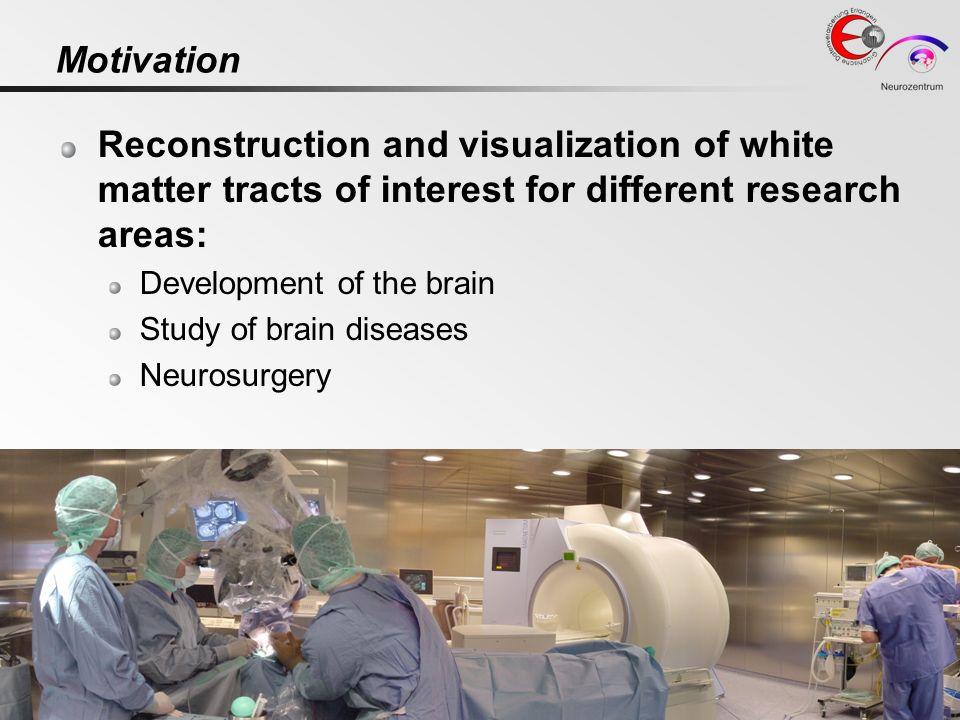 IEEE Vis 2006Computer Graphics Group + Neurocenter, Dept. of Neurosurgery University of Erlangen-Nuremberg4 Motivation Reconstruction and visualizatio