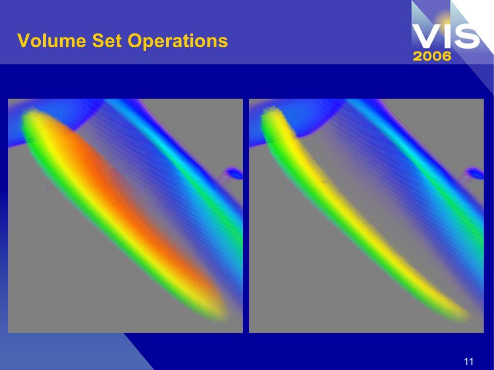 11 Volume Set Operations