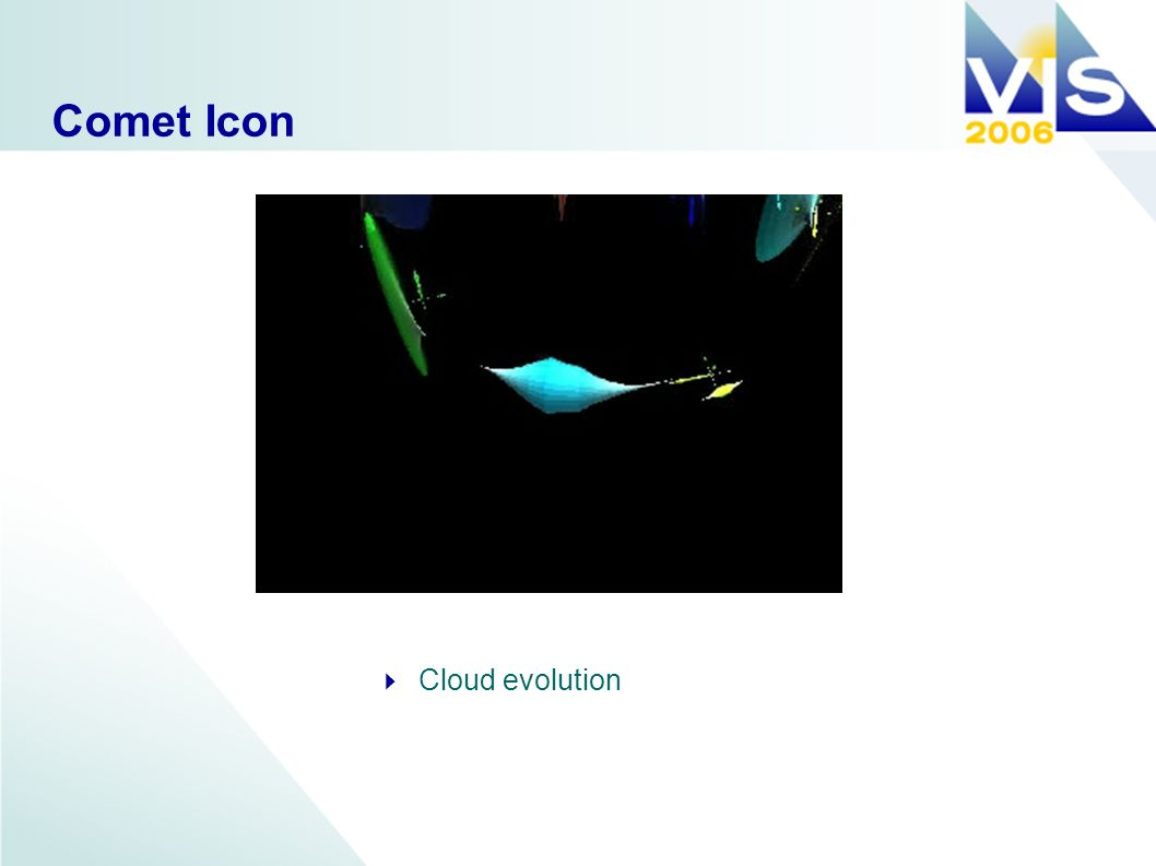 Comet Icon Cloud evolution
