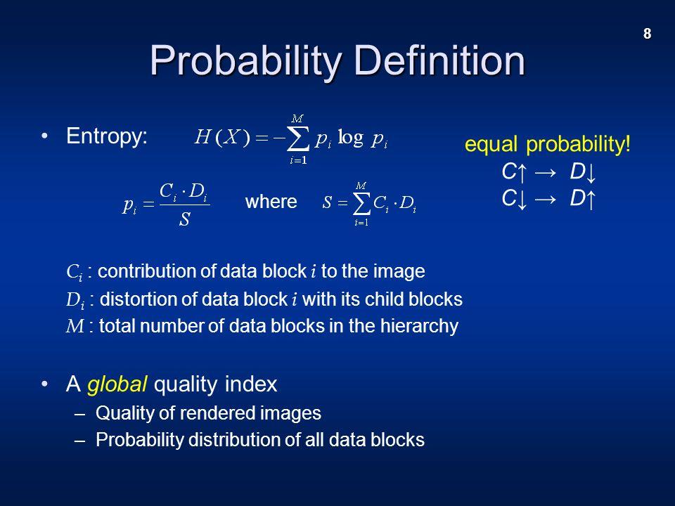 19 Results – Budget Control before, 365 blocks, entropy = 0.448 after, 274 blocks, entropy = 0.476