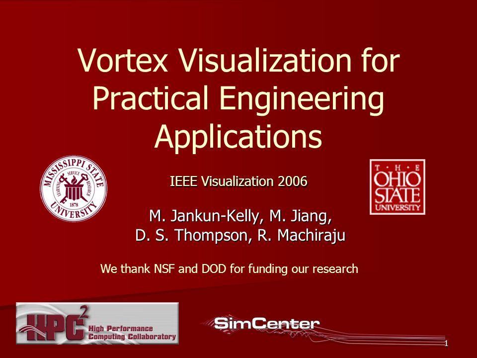 12 Stage 3: Core Line Extraction 1.Vortex detection 2.