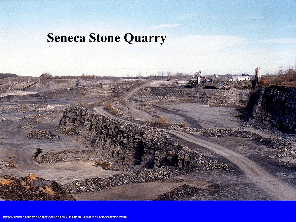 Seneca Stone Quarry http://www.earth.rochester.edu/ees207/Eastern_Transect/senecastone.html