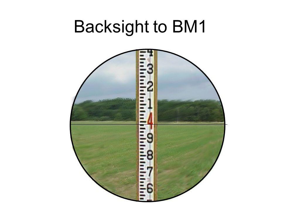 Backsight to BM1