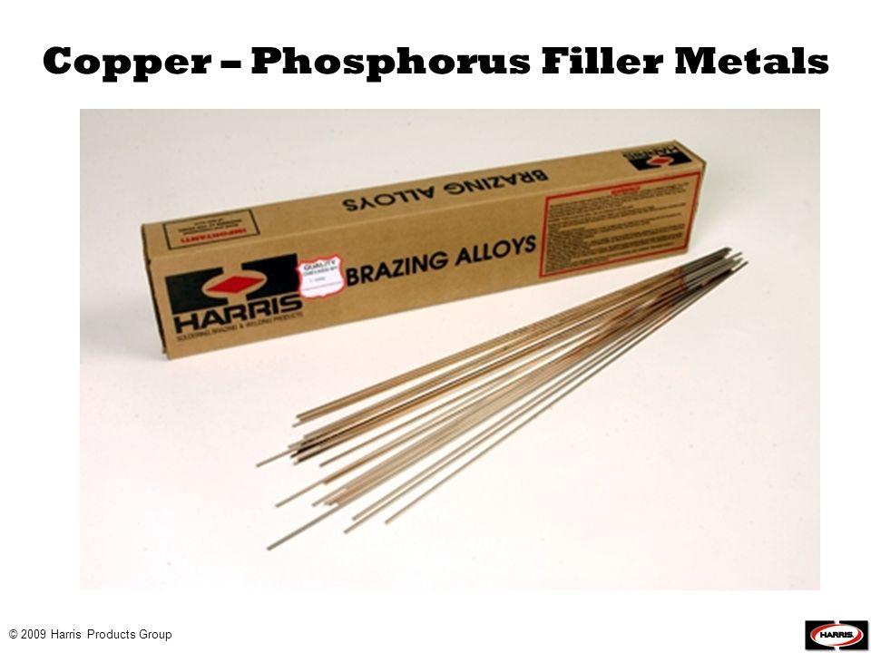 Copper – Phosphorus Filler Metals