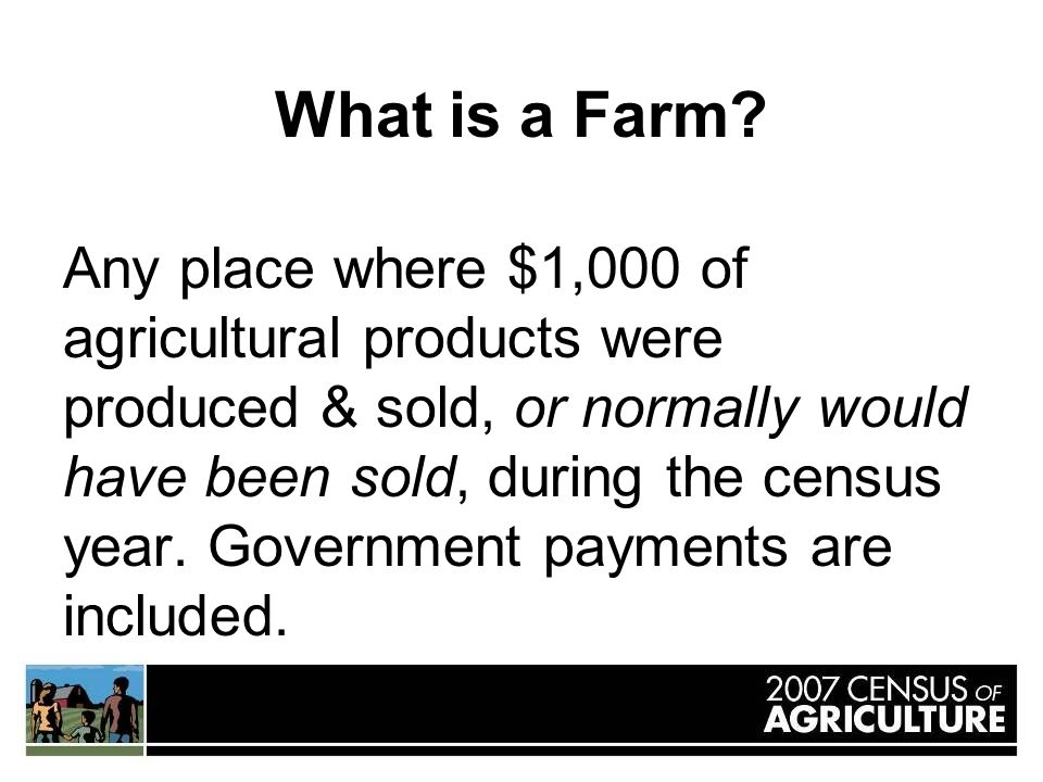 What is a Farm.