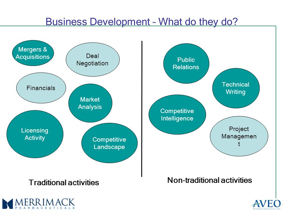Business Development – What do they do.