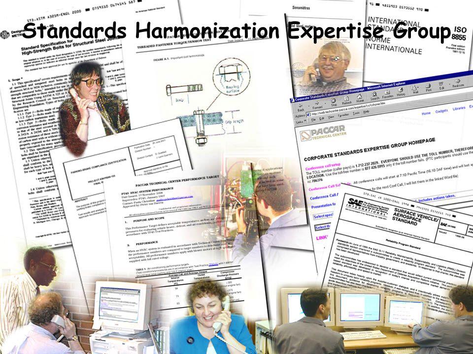 Standards Harmonization Expertise Group