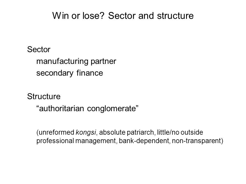 Win or lose.