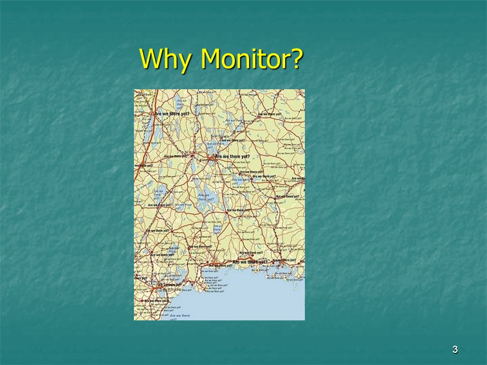 3 Why Monitor?