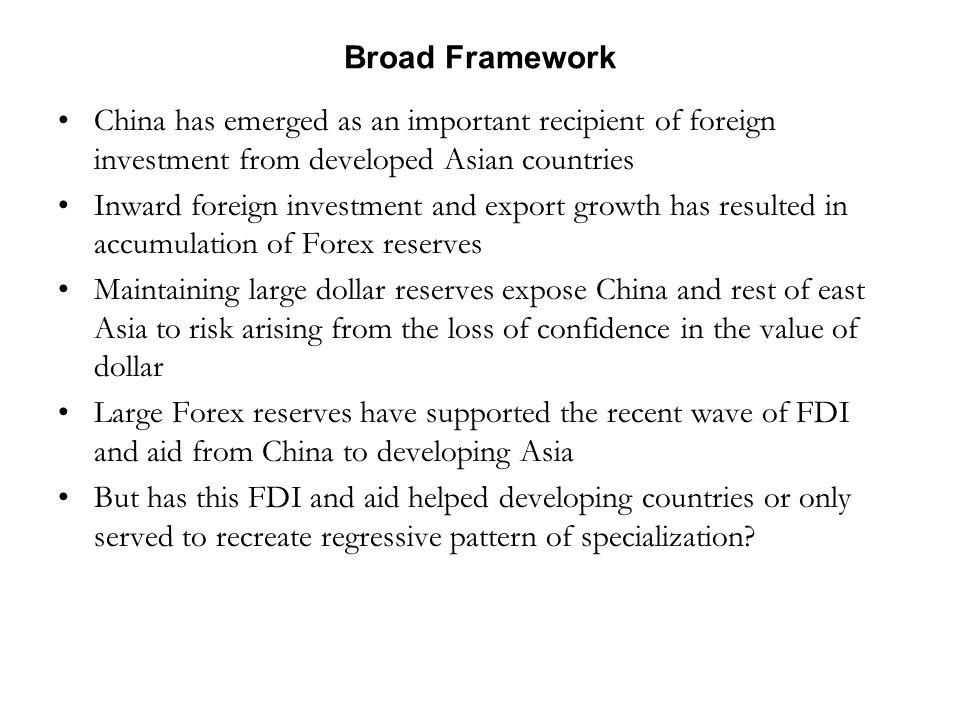 FDI in China: Main Trends Chinese economy opened itself to FDI in 1978.