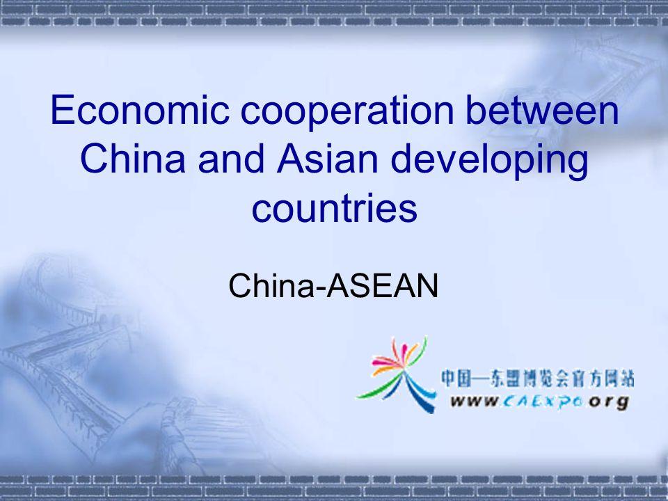Total trade of China-ASEAN