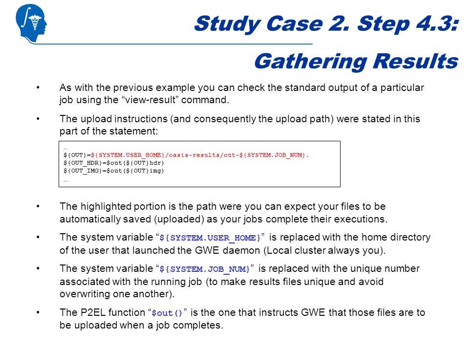 Study Case 2.