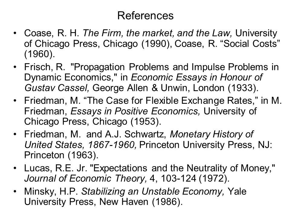 References Coase, R. H.