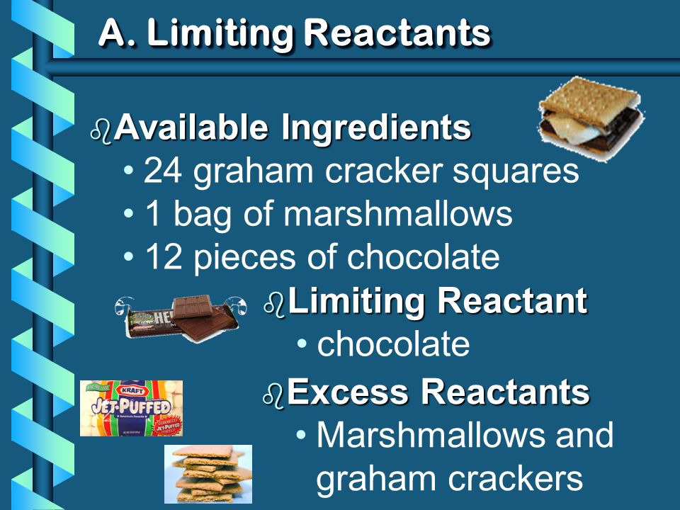 A.Limiting Reactants b What other information could you find in these problems.