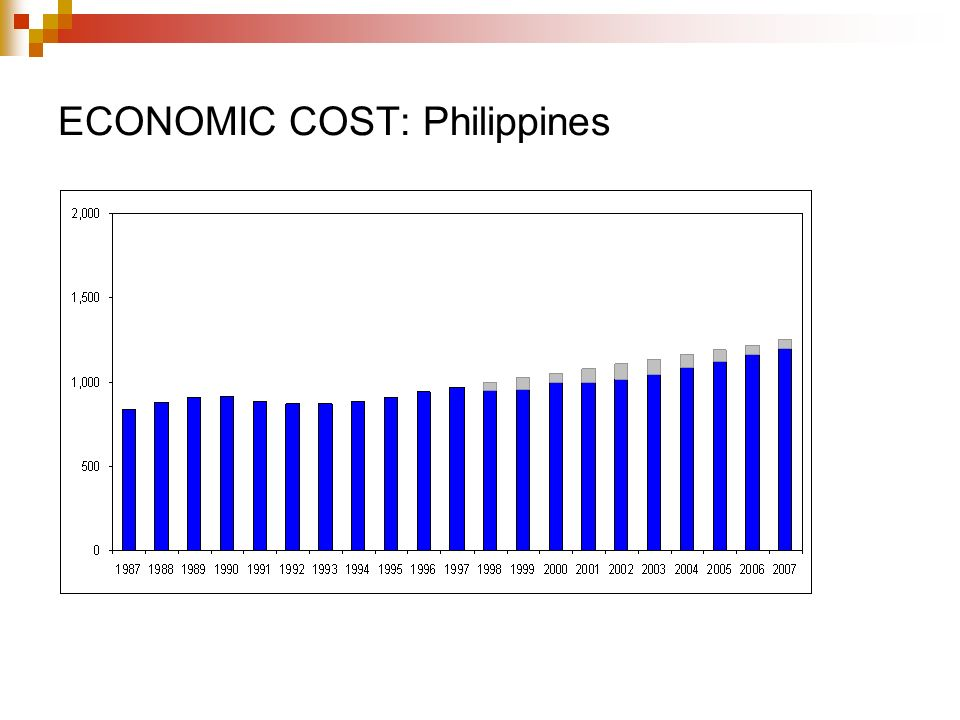 ECONOMIC COST: Philippines