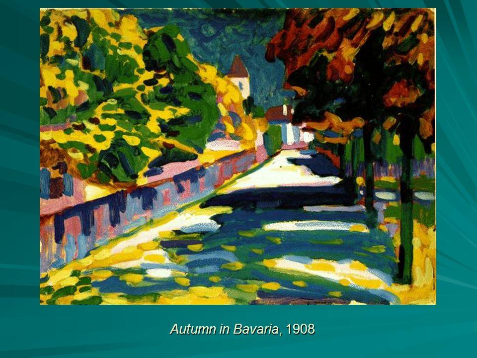 Autumn in Bavaria, 1908