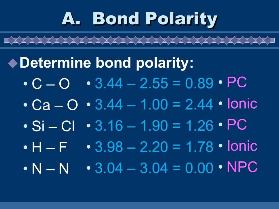 Substances in which all atoms are covalently bonded to each other Very stable Examples Diamonds – Carbon covalently bonded to carbonDiamonds Quartz – SiO 2 covalently bonded and not distinct molecules F.